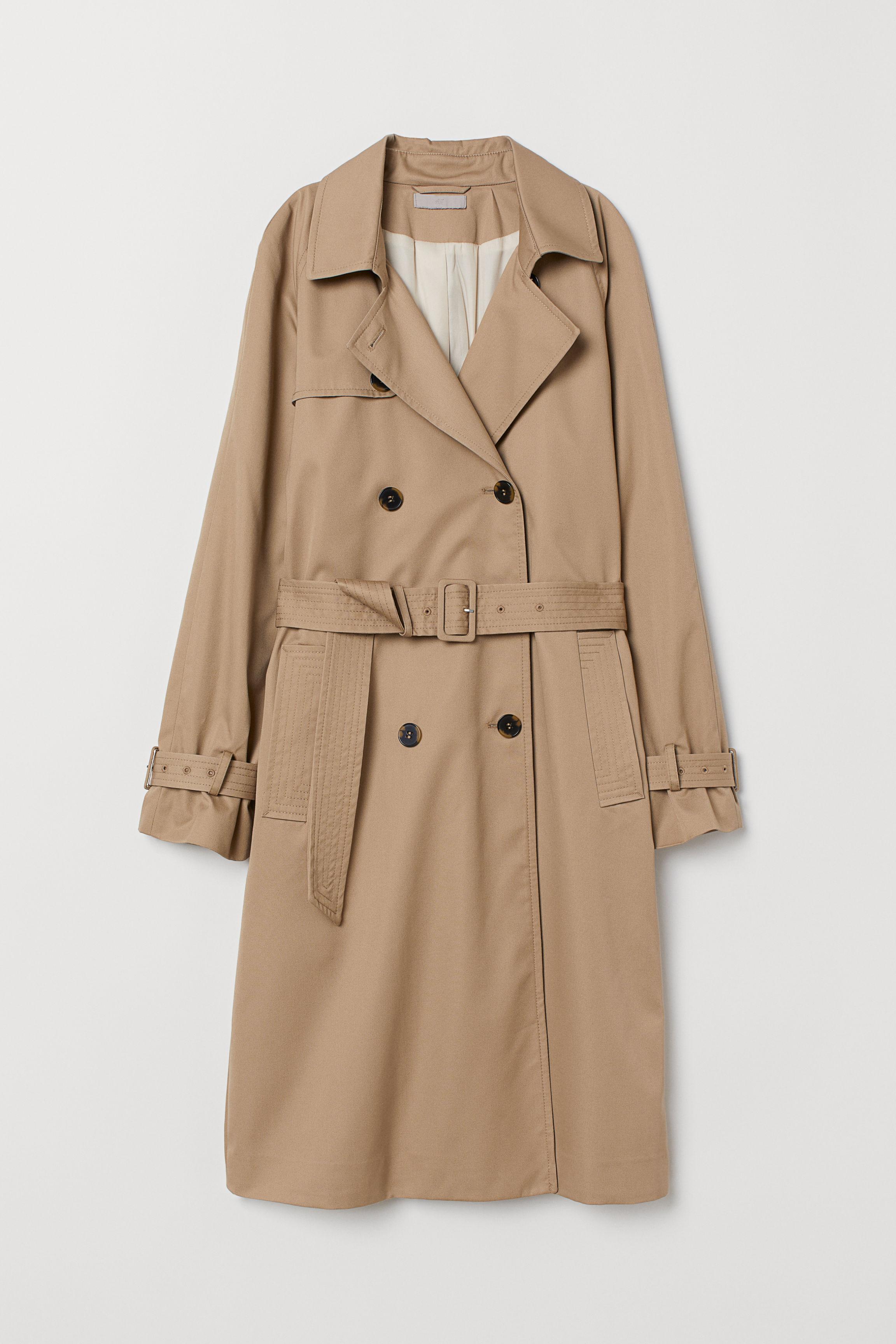 Trenchcoat - Beige - Ladies | H&M GB
