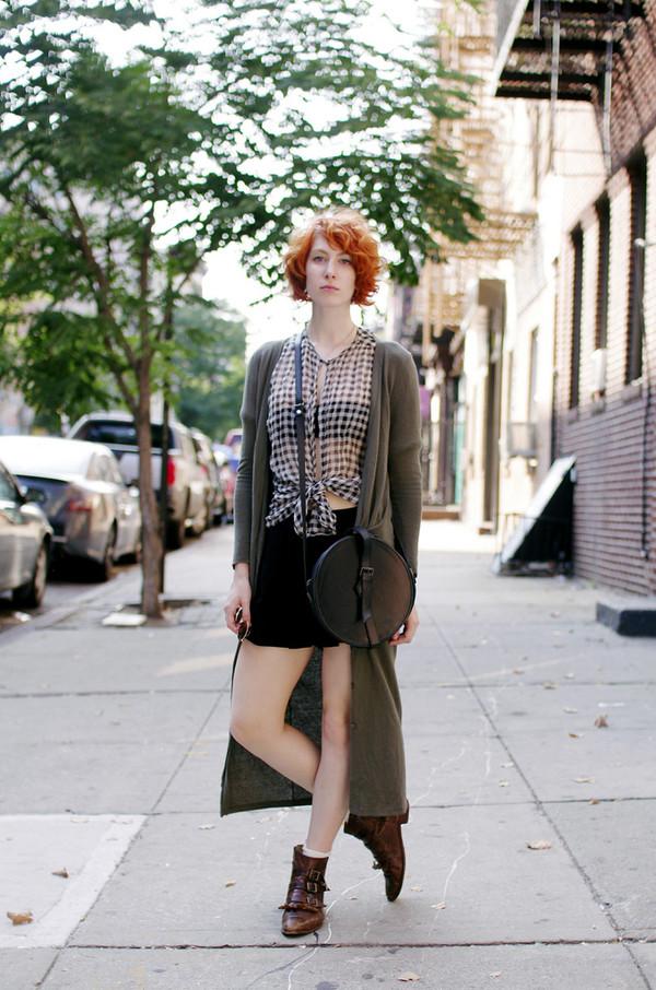 de lune blogger top cardigan bag shoes