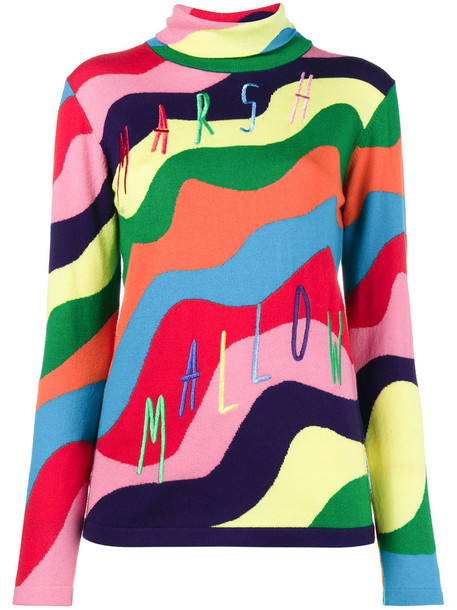 MIRA MIKATI jumper rainbow women sweater