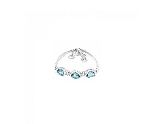 Handmade 925 Sterling Silver Gemstone Bracelet