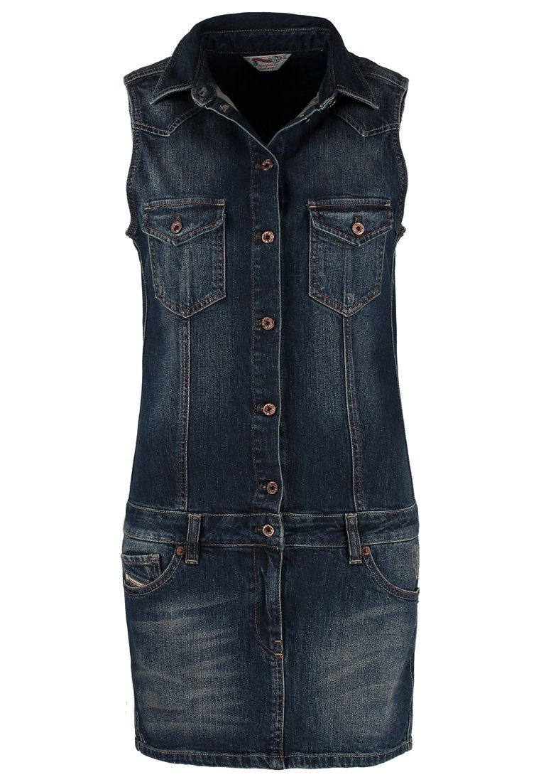 Diesel DRIOS - Denim dress - blue - Zalando.co.uk