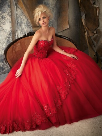 dress red dress red wedding dress