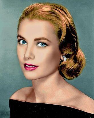 make-up grace kelly actress eye makeup hairstyles retro