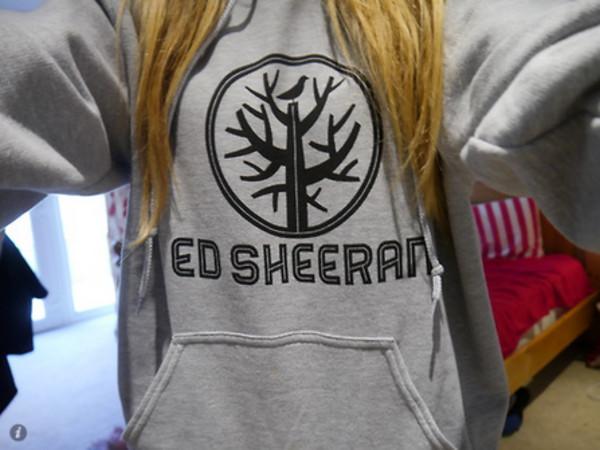 sweater ed sheeran hoodie sweatshirt blouse t-shirt grey singer