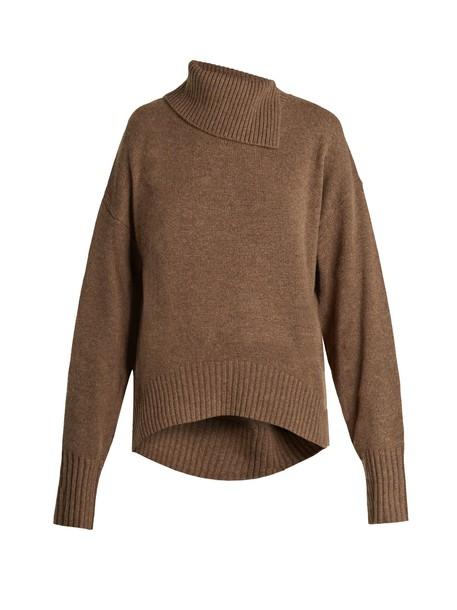 Joseph sweater wool sweater wool khaki