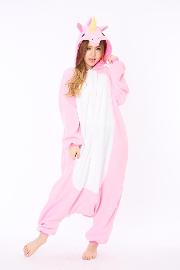 f337351a3a25 Cheap Pink Unicorn Kigurumi animal onesies