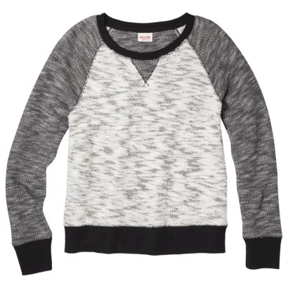 Mossimo Supply Co. Junior's Crewneck Sweatshirt ... : Target