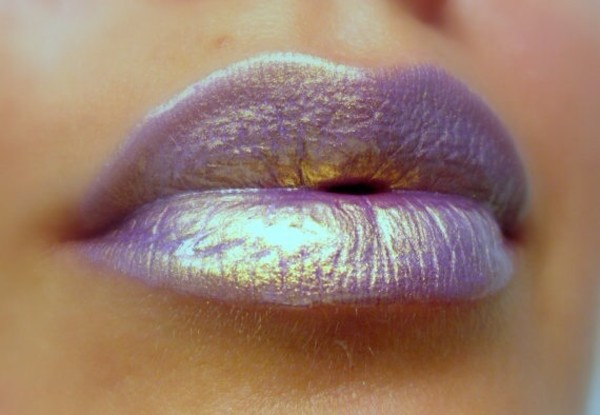 jewels nail polish lips lipstick purple make-up make-up sheer holographic holo shimmering
