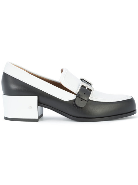 LAURENCE DACADE women new loafers leather black shoes