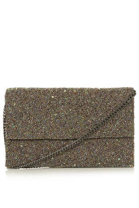Embellished Clutch Bag - Bags & Purses  - Bags & Accessories  - Topshop