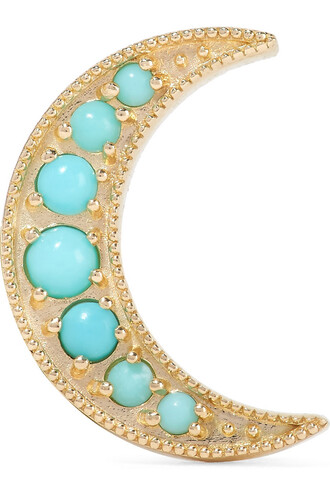 mini gold turquoise jewels