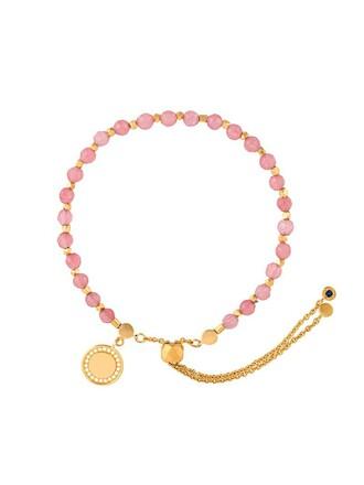 women purple pink jewels