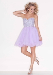 dress,formal dress,wedding dresses 2013 - wanweier wedding dresses 2013.,lilac dress,graduation dresses,prom dress,formal event outfit,lavander dress,lavender,purple,purple dress,sparkly dress,homecoming dress
