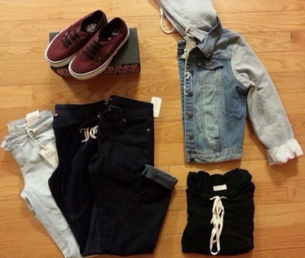 jacket jeanjacket