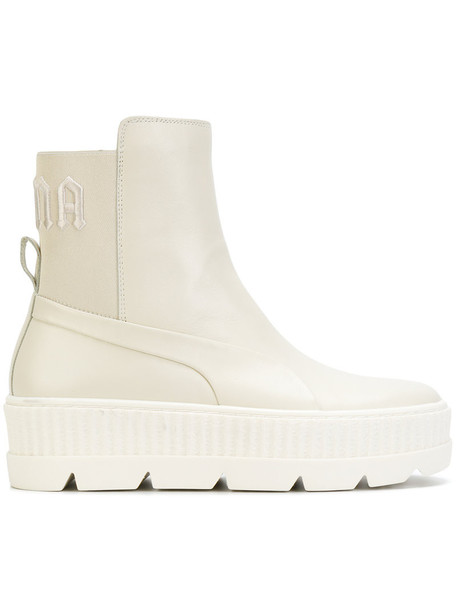 Fenty x Puma women chelsea boots leather nude shoes