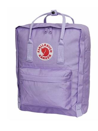 bag purple backpack fjallraven kanken