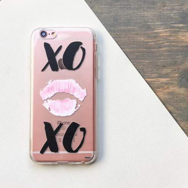 Milkyway Cases CLEAR TPU CASE COVER - XOXO