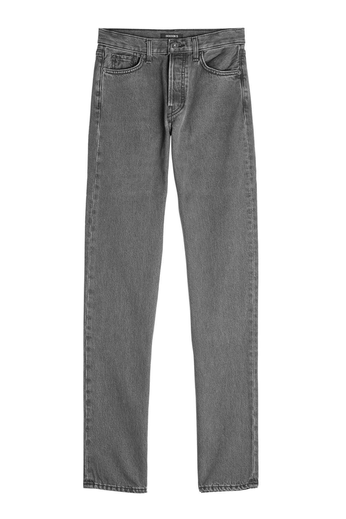 Straight Leg Jeans - Yeezy   WOMEN   US STYLEBOP.COM