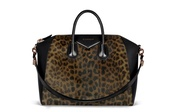 bag,animal print,black,givenchy,animal print bag