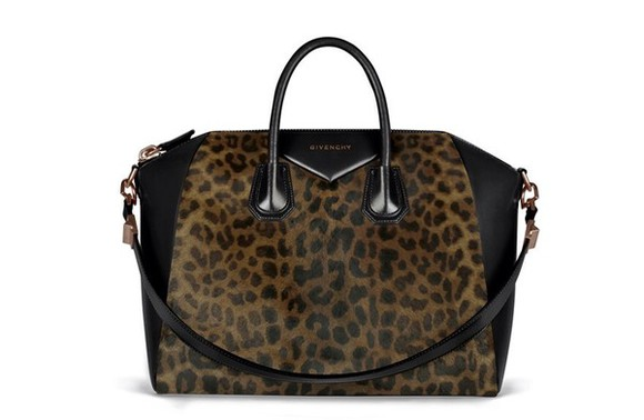 givenchy bag animal print black