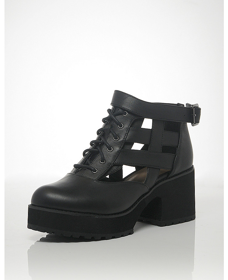 Shellys London Cut Out Boots