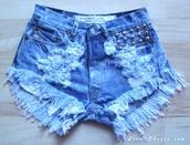 shorts,studded shortshigh waisted shorts,jeans,levi's,levi's shorts,acid wash