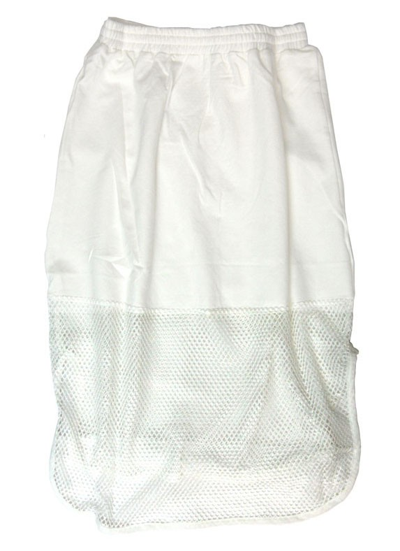 Mesh Out Skirt - Ivory - Clothing