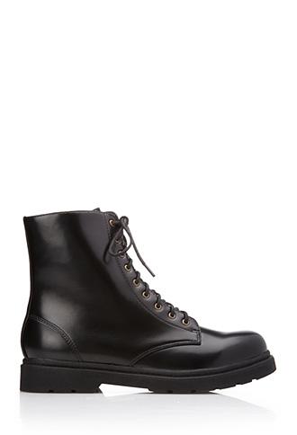 Sleek Combat Boots | FOREVER21 - 2040495595