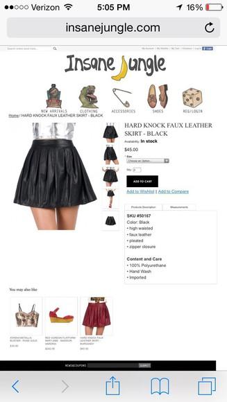 skirt black skirt 😘💯😍😍 leathe