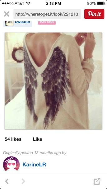 blouse wings