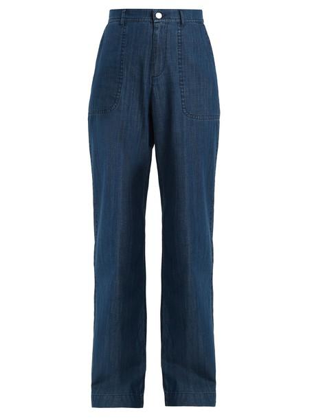 A.P.C. jeans high light blue light blue