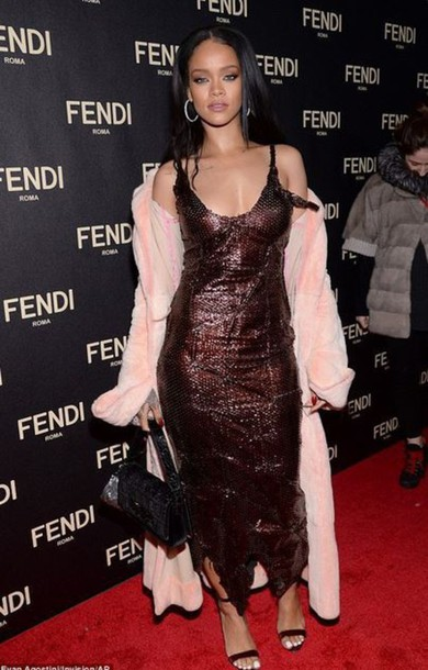 dress sequins rihanna sandals coat shoes