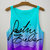Bieber Signature Tie Dye Crop Top | fresh-tops.com on Wanelo