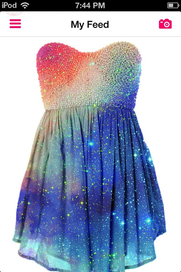 dress sexy glitter sparkle rainbow dress