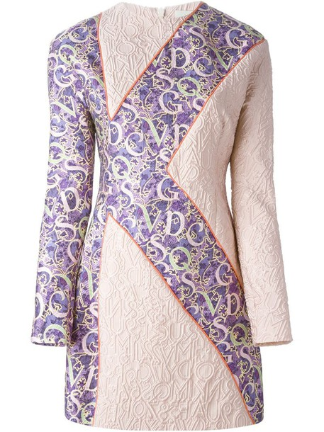 MARY KATRANTZOU dress purple pink