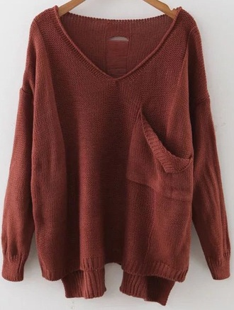 sweater girly girl girly wishlist knitwear knitted sweater knit fall sweater fall colors vneeck v neck