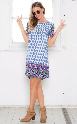 dress summer dress print dress beach dress