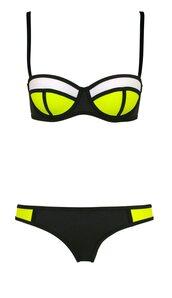swimwear,triangl,bikini,cola pop,pop,bottom,black,green,black swimwear,push up,summer,triangle,white,multicolor,top,cool,green swimwear,fashion,style