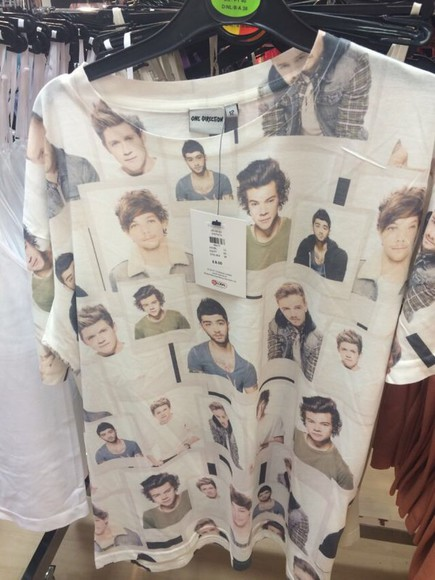one direction one direction tees niall louis harry zayn malik liam