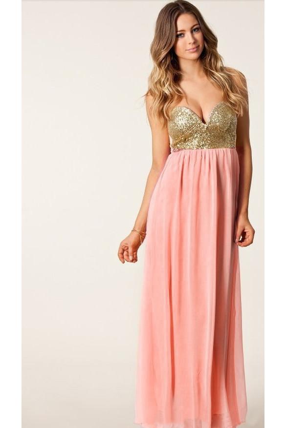 Alaina maxi dress