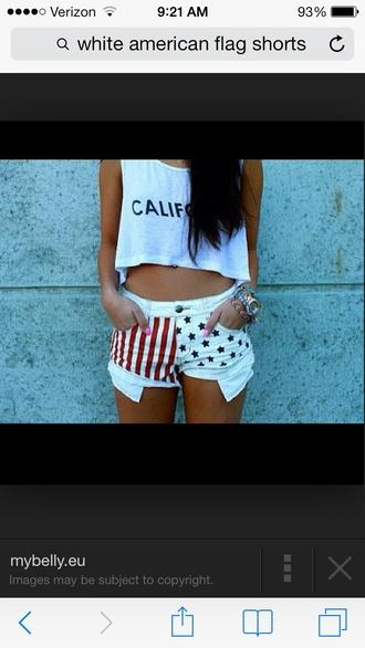shorts american flag american flag shorts high waisted shorts flag high waisted shorts bottoms flag shorts