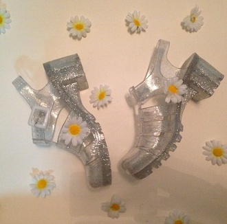 shoes daisy jellies jellyshoes fashion shoes