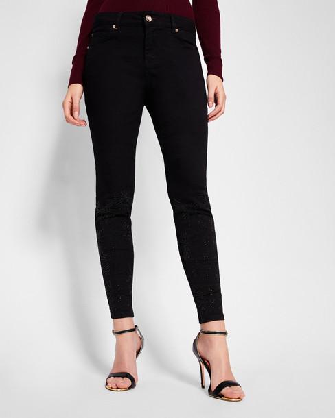 Ted Baker jeans skinny jeans embellished black