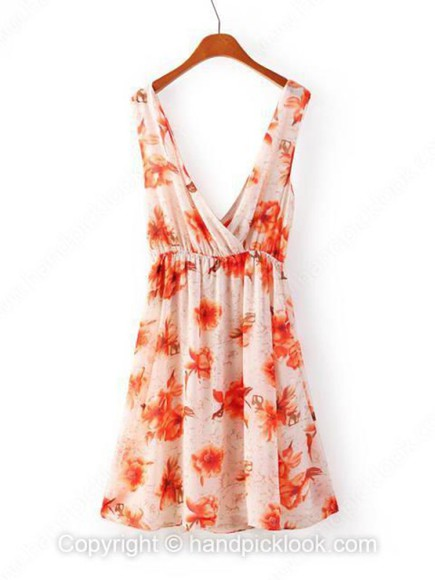 dress cream dress cream floral floral dress orange dress orange chiffon chiffon dress ruched ruched dress