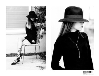 different cands blogger dress hat jewels
