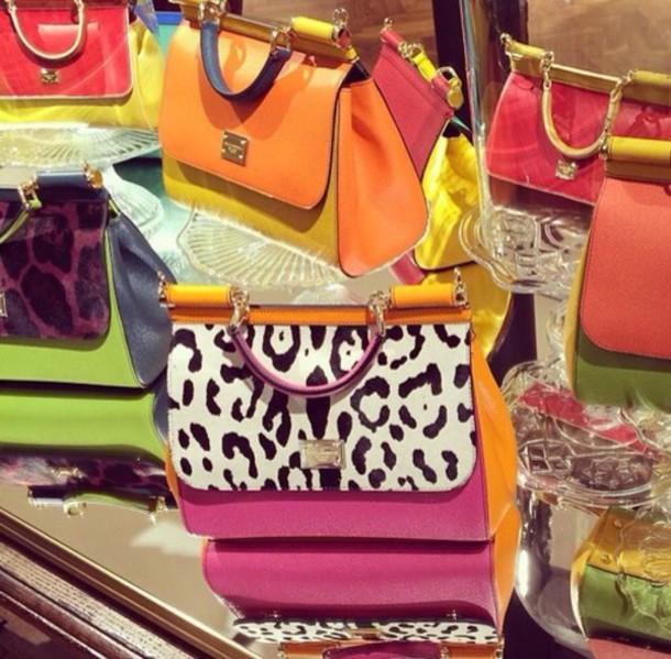 bag clutch colorful summer handbag