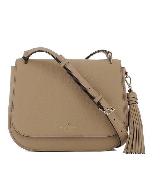 Kate Spade bag shoulder bag leather beige