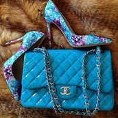 bag,shoes,chanel,patent leather,chain