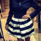White&black skirt | wow awesome world