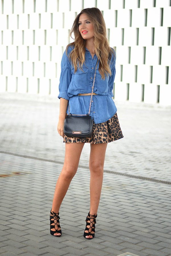 mi aventura con la moda blogger bag belt jewels skirt shirt shoes